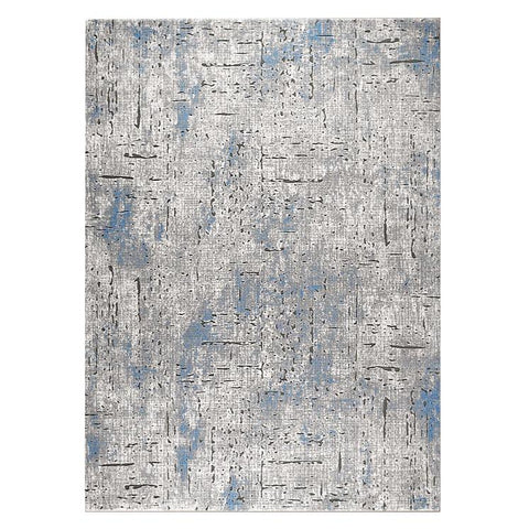 Lincoln 2723 Blue Modern Patterned Rug - Rugs Of Beauty - 1