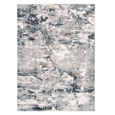Lincoln 2727 Blue Modern Patterned Rug - Rugs Of Beauty - 1