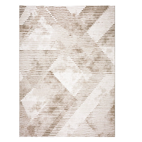 Lincoln 2724 Beige Modern Patterned Rug - Rugs Of Beauty - 1