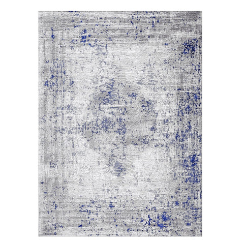 Lincoln 2725 Blue Modern Patterned Rug - Rugs Of Beauty - 1