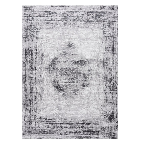 Lincoln 2725 Grey Modern Patterned Rug - Rugs Of Beauty - 1