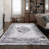 Lincoln 2725 Grey Modern Patterned Rug - Rugs Of Beauty - 2