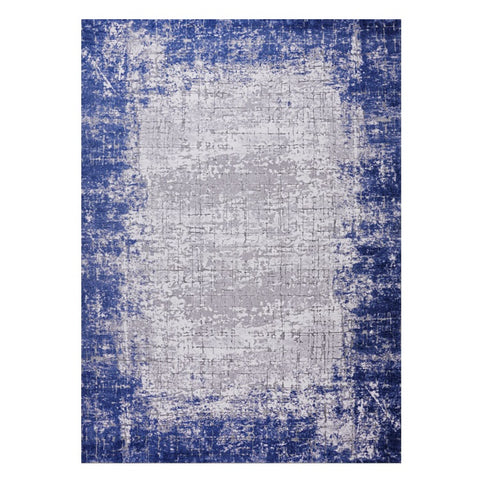 Lincoln 2726 Blue Modern Patterned Rug - Rugs Of Beauty - 1