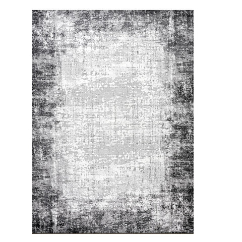 Lincoln 2726 Grey Modern Patterned Rug - Rugs Of Beauty - 1