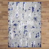 Lincoln 2728 Blue Modern Patterned Rug - Rugs Of Beauty - 3