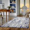 Lincoln 2728 Blue Modern Patterned Rug - Rugs Of Beauty - 2