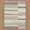 Caldwell Grey Beige Abstract Patterned Modern Rug - 3