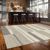 Caldwell Grey Beige Abstract Patterned Modern Rug - 2
