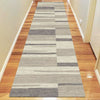 Caldwell Grey Beige Abstract Patterned Modern Rug Runner