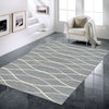 Caldwell Grey Thin Wave Abstract Patterned Modern Rug - 2
