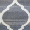 Caldwell Beige Lattice Grey Trellis Patterned Modern Rug - 6