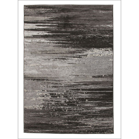 Calvin Stunning Charcoal Grey Rug - Rugs Of Beauty - 1
