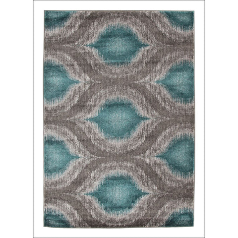 Lucid Dream Modern Rug Blue - Rugs Of Beauty - 1