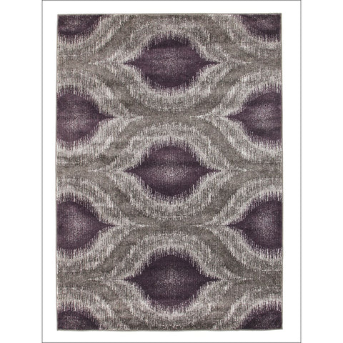 Lucid Dream Modern Rug Purple - Rugs Of Beauty - 1