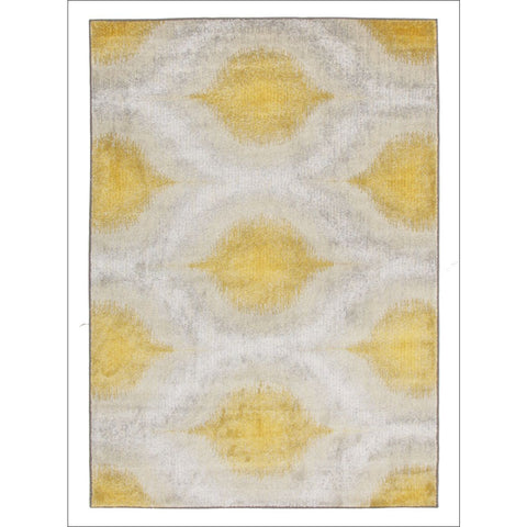 Lucid Dream Modern Rug Yellow - Rugs Of Beauty - 1