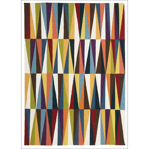 Zest Flat Weave Rug Multi - Rugs Of Beauty