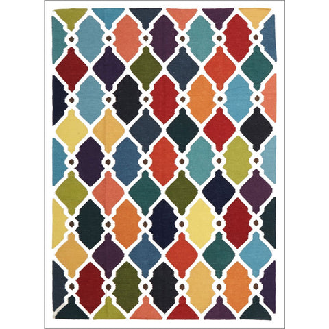 Rio Flat Weave Rug Multi - Rugs Of Beauty