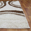 Stylish Curves Rug Ivory - Rugs Of Beauty