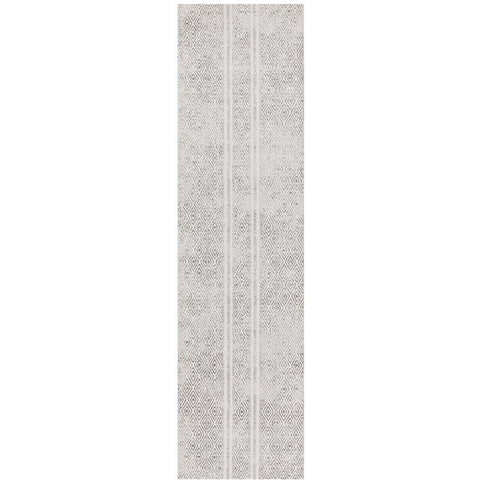 Kemi 1150 Grey Modern Tribal Boho Runner Rug - Rugs Of Beauty - 1
