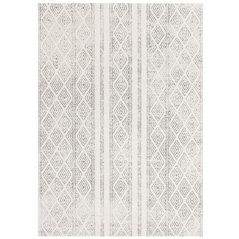 Kemi 1150 Grey Modern Tribal Boho Rug - Rugs Of Beauty - 1