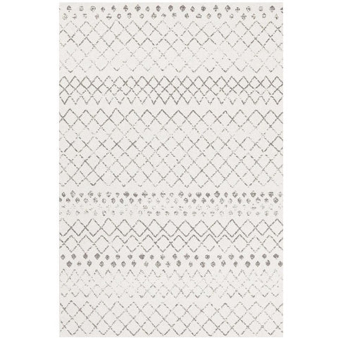 Kemi 1154 White Modern Tribal Boho Rug - Rugs Of Beauty - 1