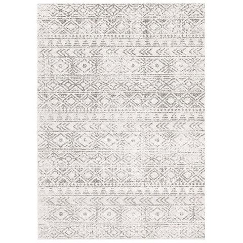 Kemi 1156 Grey Modern Tribal Boho Rug - Rugs Of Beauty - 1