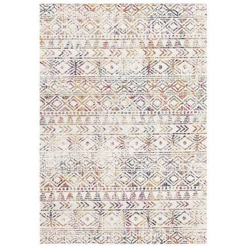 Kemi 1156 Multi Coloured Modern Tribal Boho Rug - Rugs Of Beauty - 1