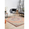 Minya 1645 Terracotta Multi Colour Transitional Rug - Rugs Of Beauty - 4
