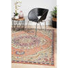 Minya 1645 Terracotta Multi Colour Transitional Rug - Rugs Of Beauty - 3