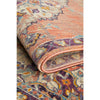 Minya 1645 Terracotta Multi Colour Transitional Rug - Rugs Of Beauty - 9