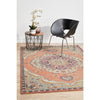 Minya 1645 Terracotta Multi Colour Transitional Rug - Rugs Of Beauty - 2
