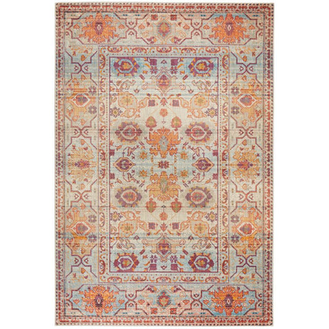 Minya 1646 Multi Colour Transitional Rug - Rugs Of Beauty - 1