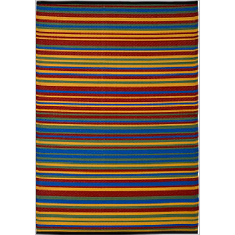 Alfresco Indoor/Outdoor Rugs - Chatai 100006-Multi - Rugs Of Beauty - 1