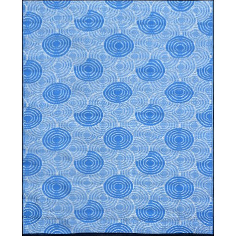Alfresco Indoor/Outdoor Rugs - Chatai 100034-Aqua - Rugs Of Beauty - 1