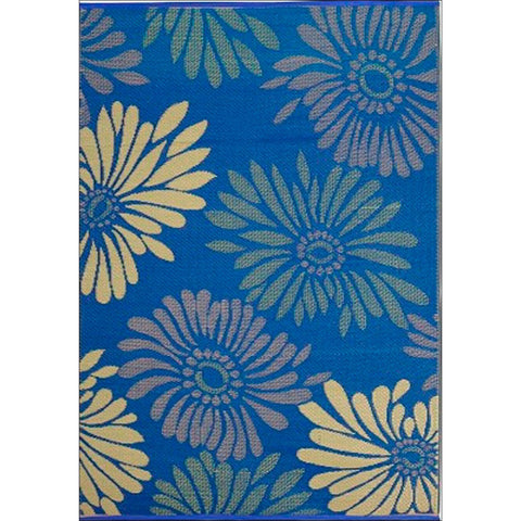 Alfresco Indoor/Outdoor Rugs - Chatai 100052-Purple/Green - Rugs Of Beauty - 1