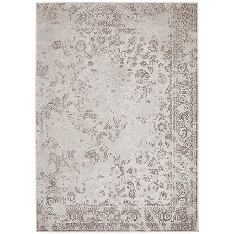 Brittia 330 Silver Grey Textured Modern Rug - Rugs Of Beauty - 1