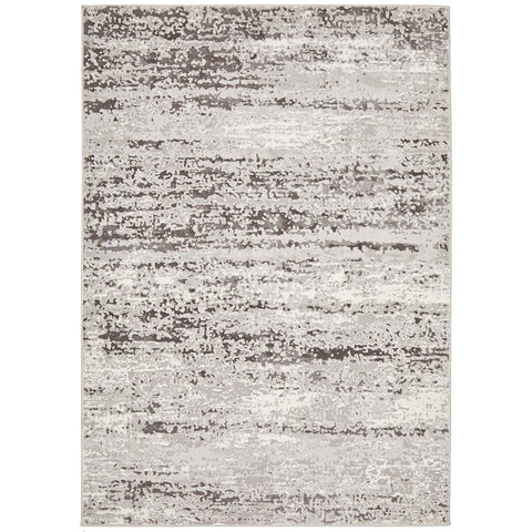 Brittia 331 Silver Grey Textured Modern Rug - Rugs Of Beauty - 1