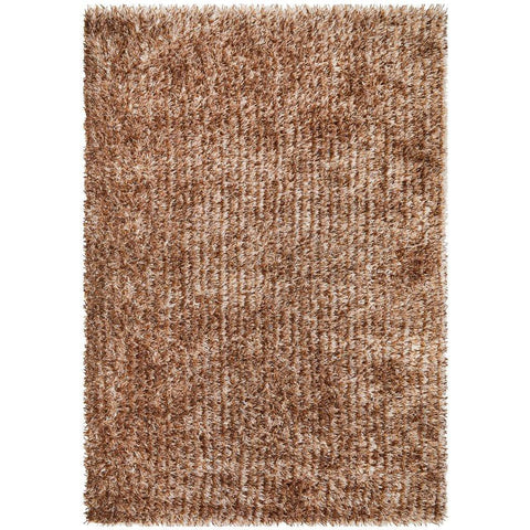 Barcelona Soft Shag Rug Light Brown Beige - Rugs Of Beauty - 1