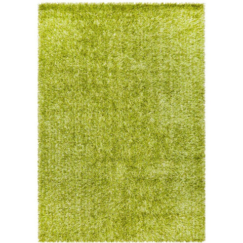 Barcelona Soft Shag Rug Lime Green - Rugs Of Beauty - 1