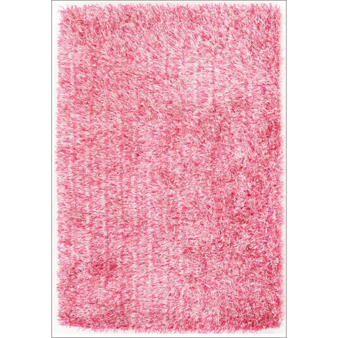 Barcelona Soft Shag Rug Pink - Rugs Of Beauty - 1