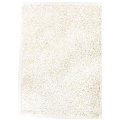 Barcelona Soft Shag Rug White - Rugs Of Beauty