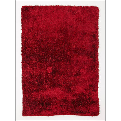Twilight Shag Rug - Red Modern Shaggy Rug - Rugs Of Beauty