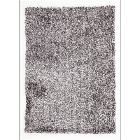 Twilight Shag Rug - Black and White Modern Shaggy Rug - Rugs Of Beauty