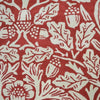 Morris & Co Oak Crimson 27900 Designer Wool Rug - Rugs Of Beauty