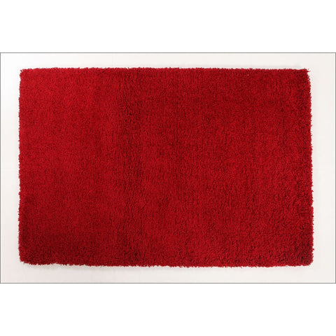 Thick Soft Polar Shag Rug - Red - Rugs Of Beauty - 1