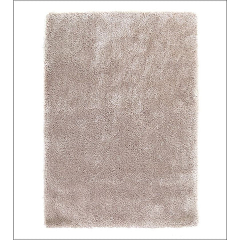 Thick Plush Shimmering Shag Rug Linen - Rugs Of Beauty - 1