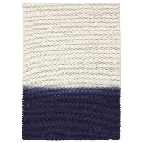 Wexford 723 Blue Designer Wool Rug - Rugs Of Beauty - 1