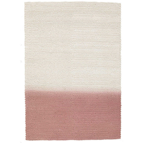 Wexford 723 Blush Pink Designer Wool Rug - Rugs Of Beauty - 1
