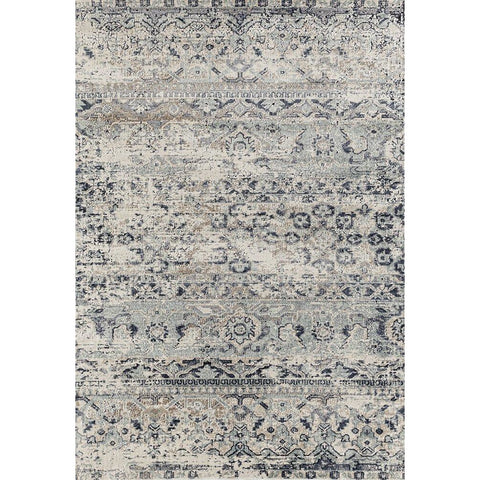 Cebu 757 Blue Faded Traditional Patterned Rug - Rugs Of Beauty - 1