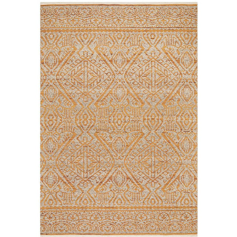Alfheim 435 Rust Transitional Floor Rug - Rugs Of Beauty - 1